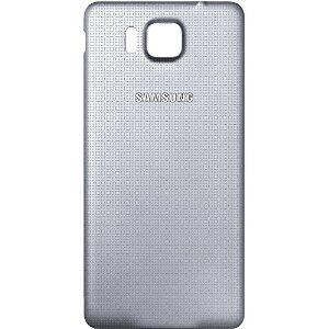 Samsung SM-G850F Galaxy Alpha Bag Cover Sølv