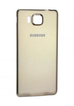 Samsung SM-G850F Galaxy Alpha Bag Cover Guld