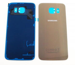 Samsung Galaxy S6 Bag Cover Guld