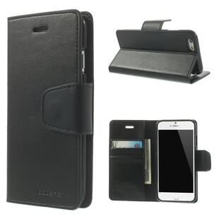 MERCURY GOOSPERY Sonata Diary Case for iPhone 6 / 6S Black