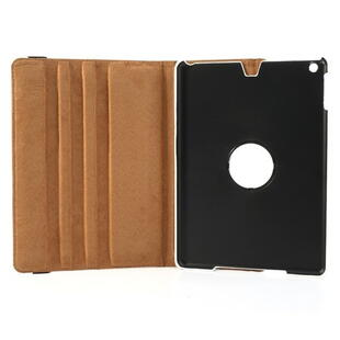 360 Degree Rotating Leather Case til iPad Air - Hvid
