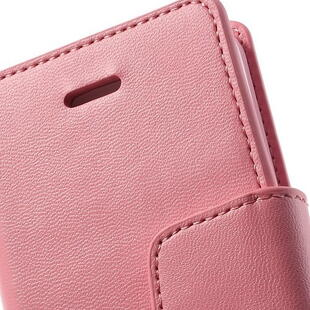 MERCURY Goospery Sonata Diary Leather Case for iPhone SE 5s 5 - Pink