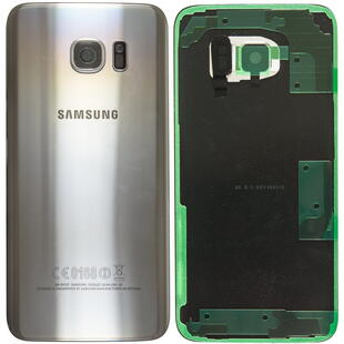 Samsung SM-G930F Galaxy S7  Battery Cover Silver
