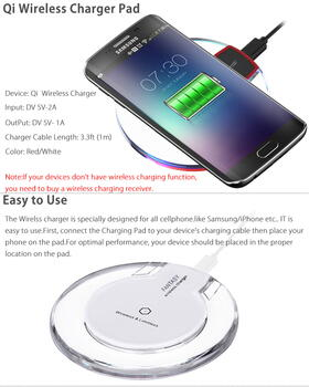 Fantasy Wireless Charging Station Hvid