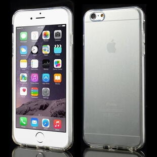 Glossy Surface TPU Gel Case for iPhone 6 Plus / 6s Plus - Transparent