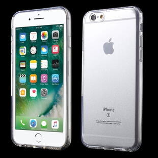 Glossy Surface TPU Gel Case til iPhone 6 / 6S - Transparent