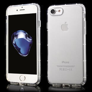 Shock Absorption TPU Cover for iPhone 7/8 - Transparent