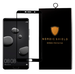 Nordic Shield Huawei Mate 10 Screen Protector 3D Curved (Blister)