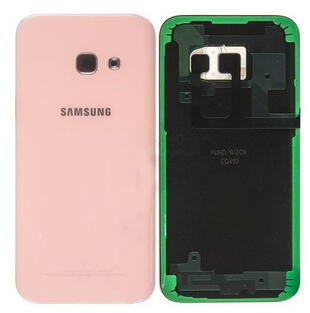 Samsung Galaxy A3 2017 Batteri Cover Pink