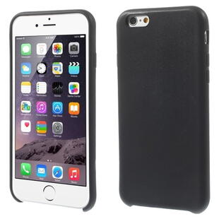 Apple iPhone 6/6S Textured Skin Soft TPU Gel Case Black