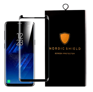 Nordic Shield Samsung Galaxy S9+ Screen Protector 3D Curved (Blister)