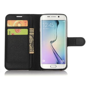 Litchi Texture Wallet Stand Leather Case for Samsung Galaxy S7 Edge Sort