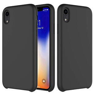 Hard Silicone Case for iPhone XR Dark Gray