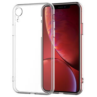 Clear TPU Protective Case for iPhone XR
