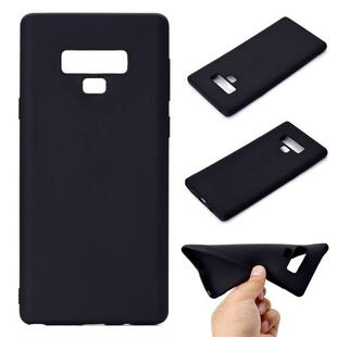 TPU Soft Back Cover for Samsung Note 9 Matte Black
