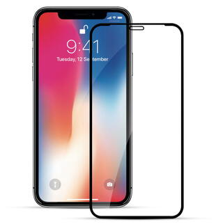 Nordic Shield Apple iPhone X/XS/11 Pro 3D Curved Screen Protector Black (Blister)