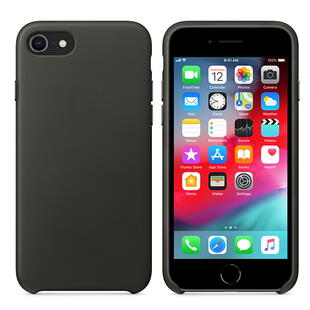Real Leather Case for iPhone 7/8 Black