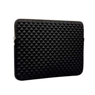 Sterio Grid PU Leather Shockproof Sleeve Case Cover For 13.3""