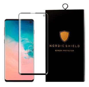 Nordic Shield Samsung Galaxy S10 3D Curved Screen Protector (Blister)