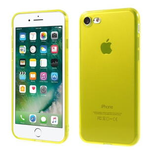 TPU Protective Case for iPhone 7/8 Transparant Yellow