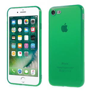 TPU Protective Case for iPhone 7/8 Transparant Dark Green
