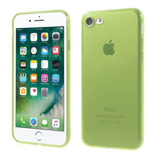 TPU Protective Case for iPhone 7/8 Transparant Light Green