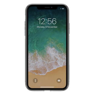 Clear TPU Protective Case for iPhone XR Grey