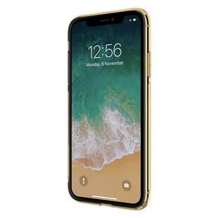 Clear TPU Protective Case for iPhone XR Gold