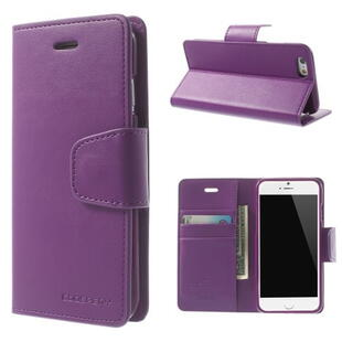 MERCURY GOOSPERY Sonata Diary Case for iPhone 6 / 6S Purple