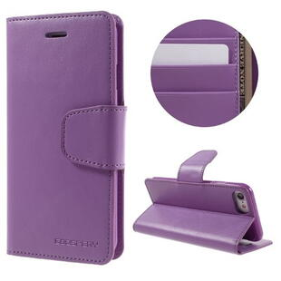 MERCURY GOOSPERY Sonata Diary Case for iPhone 7/8 Purple