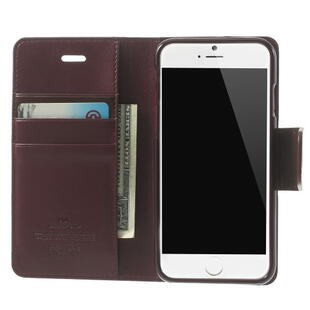 Mercury GOOSPERY Sonata Diary Case for iPhone 6 Plus/6S Plus Wine Red