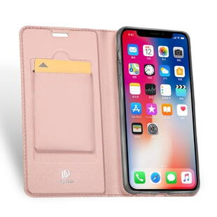 DUX DUCIS Skin Pro Flip Case for iPhone XR Rose Gold