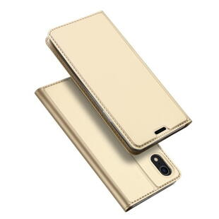 DUX DUCIS Skin Pro Flip Case for iPhone XR Gold