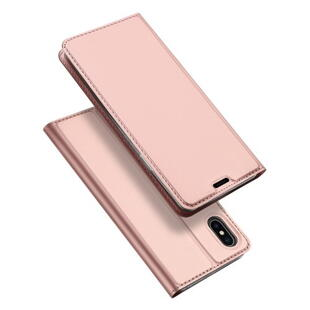 DUX DUCIS Skin Pro Flip Case for iPhone XS Max Rose Gold