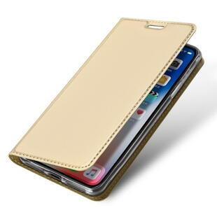 DUX DUCIS Skin Pro Flip Case for iPhone XS Max Gold