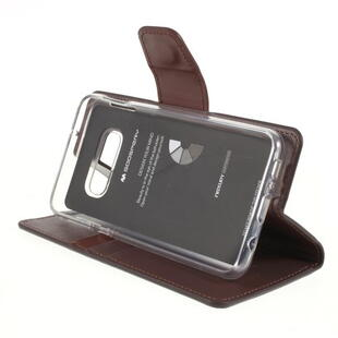 MERCURY GOOSPERY Sonata Diary Case for Samsung S10e Coffee