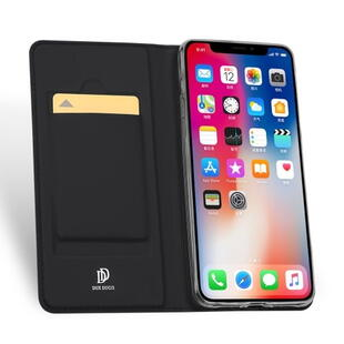 DUX DUCIS Skin Pro Flip Case for iPhone X / XS Dark Grey