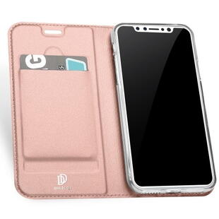 DUX DUCIS Skin Pro Flip Case for iPhone X / XS Rose Gold