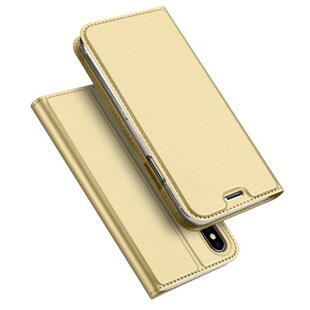 DUX DUCIS Skin Pro Flip Case for iPhone X / XS Gold