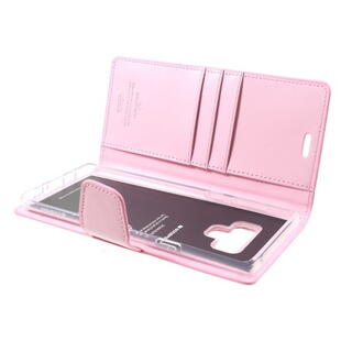 MERCURY GOOSPERY Sonata Diary Case for Samsung Galaxy Note 9 Pink