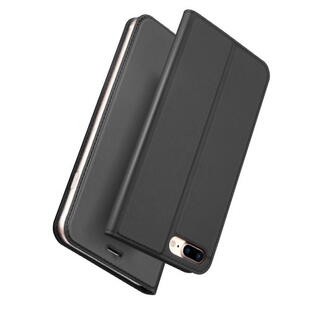 DUX DUCIS Skin Pro Flip Case for iPhone 7 Plus/8 Plus Dark Grey