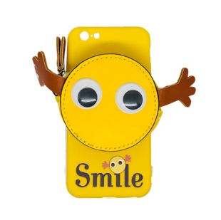 iPhone 6/6S Case with Yellow Smile Face