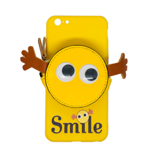 iPhone 6 Plus Case with Yellow Smile Face