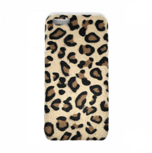 Leopard Hair Hard Case for iPhone 7/8 Light