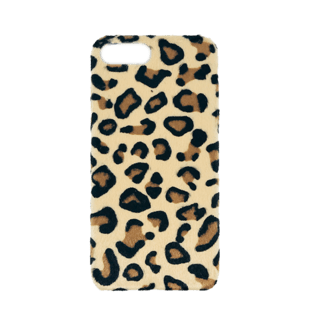 Leopard Hair Hard Case for iPhone 7 Plus/8 Plus Light