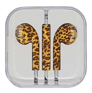 In-Ear Headset with remote/mic Leopard