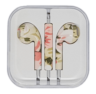 In-Ear Headset with remote/mic Camouflage