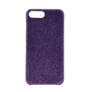 Horse Hair Hard Case for iPhone 7 Plus/8 Plus Purple