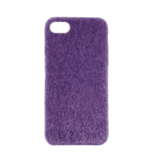 Horse Hair Hard Case for iPhone 7/8 Purple