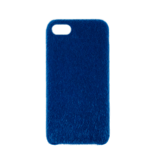 Horse Hair Hard Case for iPhone 7/8 Blue